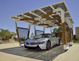 BMW làm bãi đỗ xe sử dụng năng lượng mặt trời